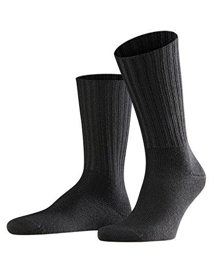 FALKE Herren Socken Nelson - Merinowollmischung, 1 Paar, Grau (Anthracite Melange 3080), Größe: 39-42