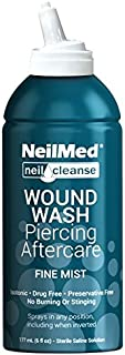 ear piercing wound wash