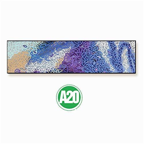 WSNDG Micro spuit banner frame slaapkamer nachtkastje abstract canvas schilderij zonder fotolijst 50x180cmx1 20c