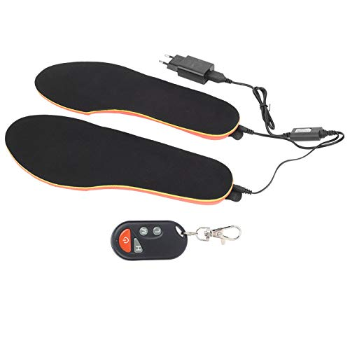 Fdit 100 V-230 V EU USB Chauffage électrique Coussin de Pied Semelles de Chaussures Semelles chauffantes Rechargeables Chauffe-Pieds pour Hommes Femmes