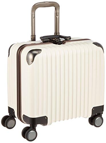 [カーゴ] スーツケース ビジネスサイズ ロータリーロック 消音キャスター TW43 保証付 33L 43 cm 3.9kg アイボリー