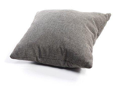 Coussin matelassé pour palette / coussin de siège / de dossier en polypropylène Deko-Kissen 50x50 gris