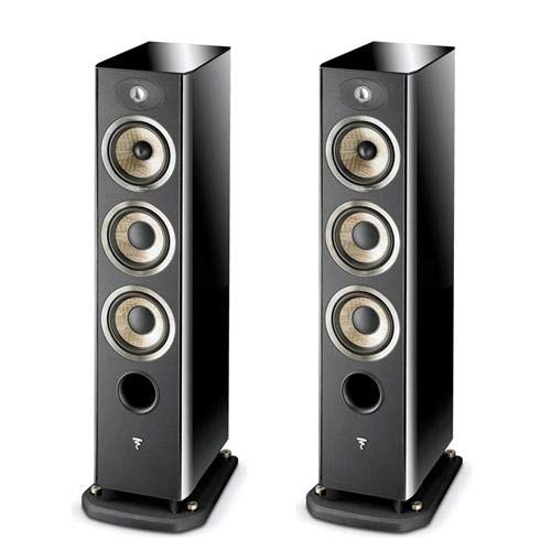 Great Features Of Focal 2 Pack Aria 926 3-Way Bass Reflex Floor Standing Speakers with 2X 6.5 Bass D...