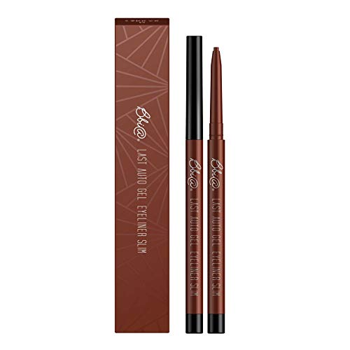 BBIA Last Auto Gel Eyeliner Slim, Chocolate brown with rosy ginger (S3 Rose Brown S)