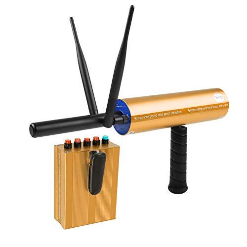 Tonysa handheld metaaldetector, 3D professionele goudkoperscanner voor archeologisch/wetenschappelijk onderzoek met 2 antennes/maximale duurzaamheid/oplader (goud)