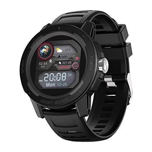 YoYoFit Smartwatch, 1.4 Zoll Touch Farbdisplay, Outdoor Digitale Uhr wasserdichte Sportuhr mit 7 Sportmodi, Schlafmonitor, Fitness Tracker,Aktivitätstracker Schrittzähler Uhr für Herren Damen