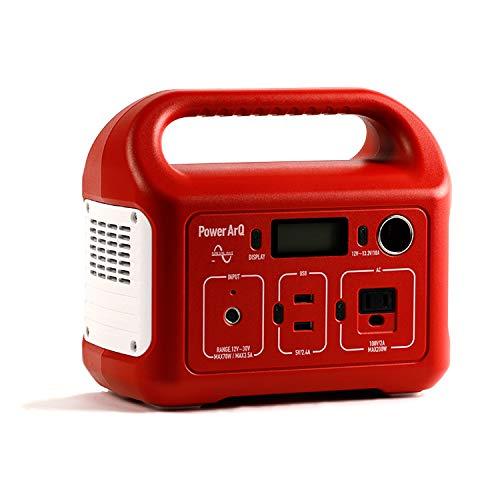 SmartTap ポータブル電源 PowerArQ mini レッド