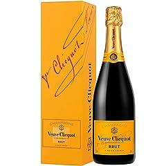 Veuve Clicquot Brut Yellow Label z opakowaniem prezentu, 0.75l