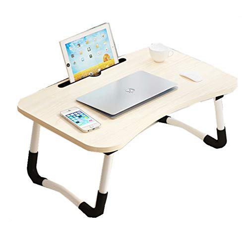 Folding Computer Desk Small Table Portable With Heat Dissipation Lifting Adjustable Multifunctional Laptop Desk For Eating, Reading, Working, Watching Video On Bed/Sofa/Floor