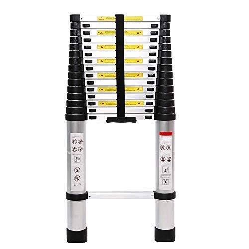 WYBD.Y Einfach zu verwendende Mehrzweckleiter-Teleskopleiter, Aluminium-Teleskopauszug-hohe Mehrzweck-Loftleiter (Farbe: H, Größe: 5,0 M)
