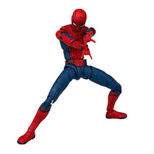 Qiyun Llanta Spider Man Homecoming The Spiderman Action PVC Figuras de colección Model Toy 15cm -