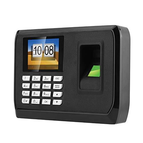 HFeng 2,4-Zoll-TFT-LCD-Bildschirm intelligente biometrische Fingerabdruck-Password Teilnahme Maschine Mitarbeiter Check-in Recorder DC 5V Zeit Anwesenheit Uhr System