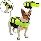 Vivi Bear Pet Life Jacket Dog Life Jacket Vest with Superior Buoyancy Rescue