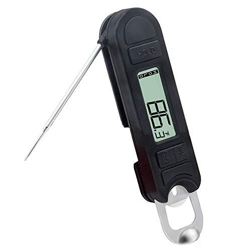 Termómetro para carne,Funien Termómetro digital para alimentos Termómetro de lectura instantánea para carne,termómetro para barbacoa,parrilla,ahumador,para cocinar,hornear,horno,termómetro con sonda