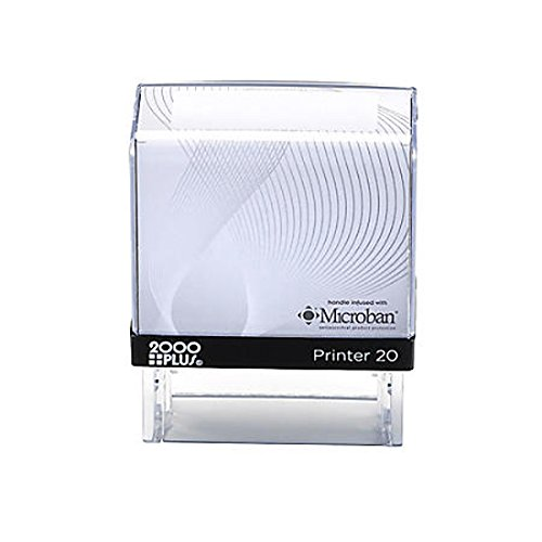 Customized Cosco 2000 Plus Printer 20 Perfect Size for Return Address self Inking Stamp