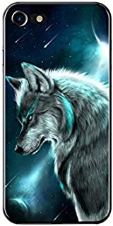 FancyCase Compatible with iPhone 8 Plus/iPhone 7 Plus-New Cool Animal Series Soft TPU Protective iPhone 8 Plus Case/iPhone 7 Plus Case by FancyCase (Wolf Style)