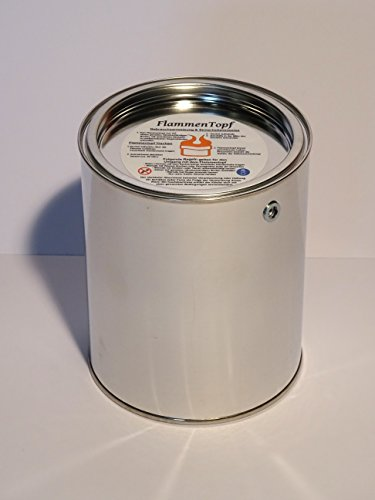 Flammentopf 1 Liter / 16 Stück