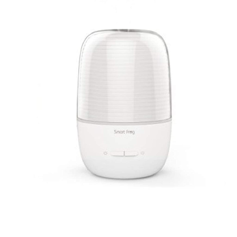 トレイ試みる繁栄130ml超音波冷たい霧の加湿器の変更家のヨガのオフィスの鉱泉の寝室の拡散器 (Color : White)
