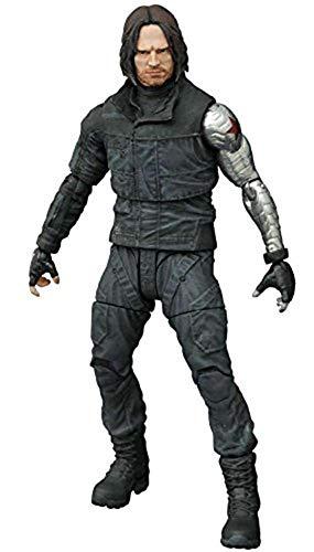 Diamond Select Toys Marvel Select: Captain America: Civil War: Winter Soldier Actionfigur