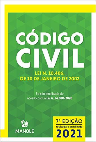 Código civil: Lei n. 10.406, de 10 de janeiro de 2002