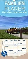 Die schoene Insel Neuwerk - Familienplaner hoch (Wandkalender 2022 , 21 cm x 45 cm, hoch): Die schoene Insel Neuwerk - bei Naturliebhabern und Ruhesuchenden gleichermassen beliebt (Monatskalender, 14 Seiten )