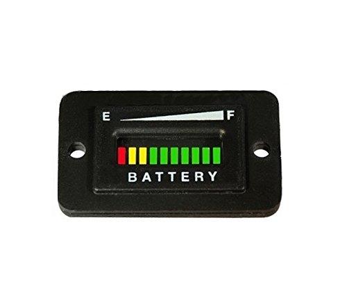 Automotive Authority LLC 36 Volt EZGO Club Car Yamaha Golf Cart Battery Indicator Meter Gauge Rectangle