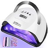 LiRiQi 180W Lampada Unghie LED UV Professionale per Manicure/Pedicure, Sensore Di Avvio Automatico...