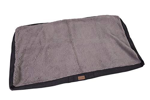 brunolie Wechselbezug Ersatzbezug für Balu, waschbar, hygienisch und rutschfest, Grau, Größe XL