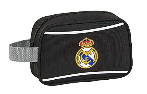 Neceser, Bolsa de Aseo 22 cm Real Madrid CF de safta 812024234, Multicolor
