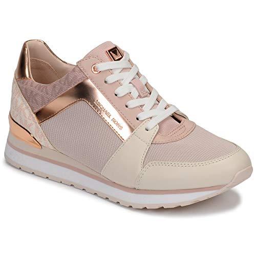MICHAEL MICHAEL KORS BILLIE TRAINER Sneakers dames Beige/Roze/Roze/Goud Lage sneakers