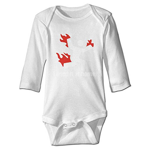 Klotr Barboteuse Bébé, I Tried IT at Home Science Project Funny Unisexe Combinaison Pyjamas Coton Grenouillère Manches Longues Body