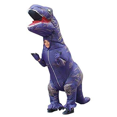 FIZZENN Dinosaur Kostuum Opblaasbare T-Rex pak Halloween Cosplay Fantasy Kostuums Volwassene/kinderen