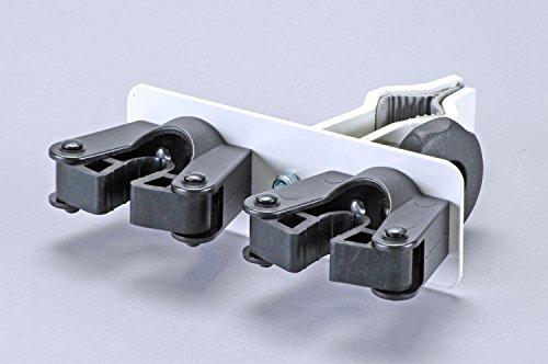 Gehstützenhalterung zur Montage an Bett- und Tischbeinen - praktische Aufbewahrung von Gehhilfen direkt am Bett oder Tisch - Durchmesser 20-30mm