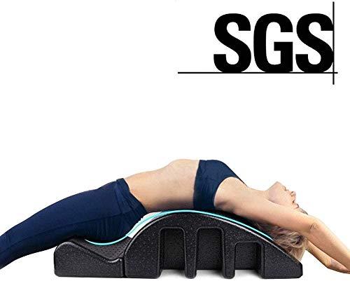 Hammer Pilates Spine Corrector - Pilates Mesa de masajes Columna Vertebral de alineación, el Dolor de Espalda Alivio Volver Curva Salud Negro, corrección de la Columna Vertebral Cervical/corrección
