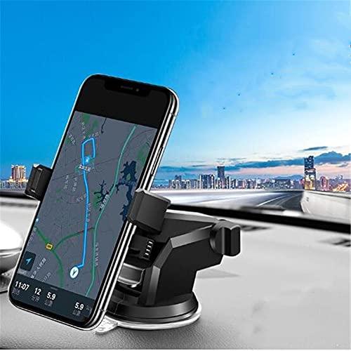 qwert Tenedor de teléfono del automóvil, Soporte de Ventosa multifunción, Soporte Universal del automóvil