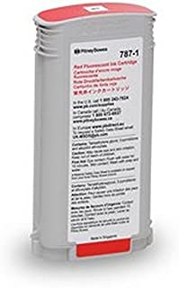 Genuine Original Pitney Bowes Brand 787-1 Extra High Yield Fluorescent Red Ink Cartridge for Connect+ 1000/2000/3000 Series (Production)