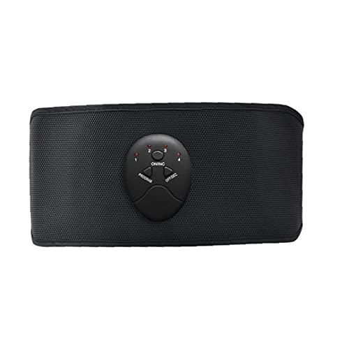 Dispositivo eléctrico abdominal Cinturón abdominal inteligente masaje que adelgaza la correa del masaje de pérdida de la aptitud del cuerpo del instrumento medidor de peso para la espalda baja
