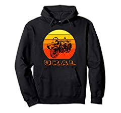 This Pullover is a perfect gift for your grandfather, dad or husb who is a off-road biker and dirt enthuasist. Your brother or son will appreciate your unique gift for true fans of off-road adventures on a wonderful Russian motorcycle with a sidecar....