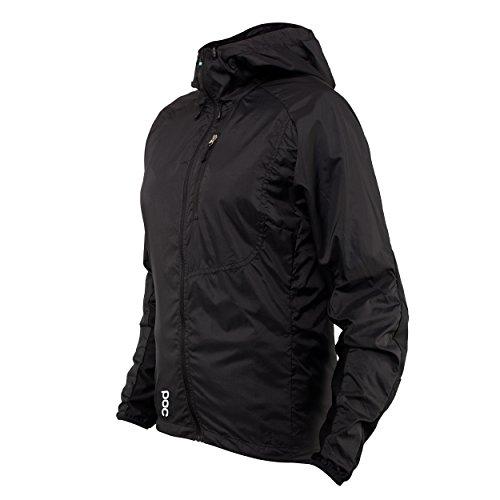POC Damen Resistance Enduro Wind WO JKT Jacket, Carbon Black, XS