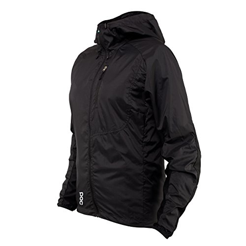 POC Damen Resistance Enduro Wind WO JKT Jacket, Carbon Black, S