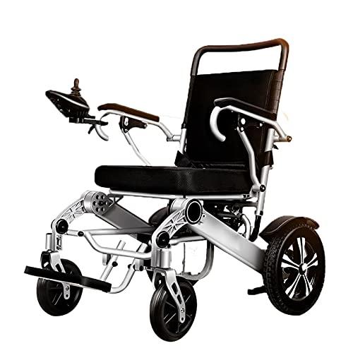 LFLLFLLFL Erwachsene Leichte Rollstuhlfahrer Rollstuhl, Aviation-Grad Aluminiumlegierungsrahmen Kann Bestiegen Werden, Das Nur 23 Kg High-Endurance-Lithium-Batterie 500W Bürstenlos Motorisiert Wird