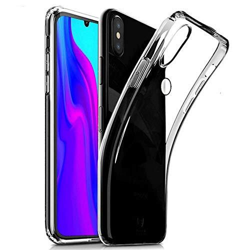 REY - Funda Carcasa Gel Transparente para ZTE Blade V10, Ultra Fina 0,33mm, Silicona TPU de Alta Resistencia y Flexibilidad