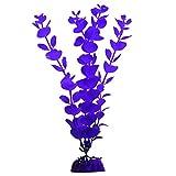 GloFish Color Changing Aquarium Plant, Blue Large, Aquarium Décor, Changes Color Under Blue And Black LEDs, Cycle Light Décor, Purple