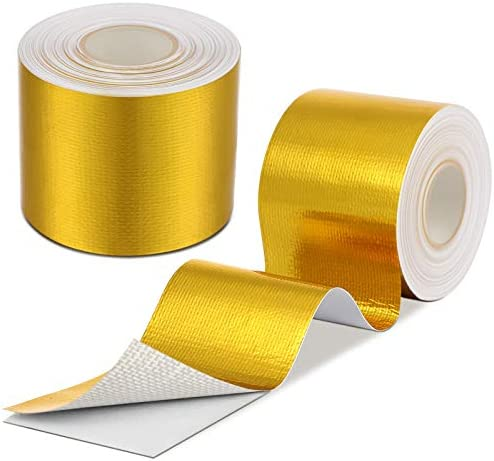 Gold exhaust wrap