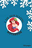 I am Mer-mazing: Mermaid Notebook: Mermaid journal notebook, for girls with space to write and draw. 6x9 in ,120pages
