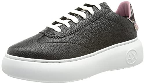 Armani Exchange Damen High Sole Comfort Sneaker, K660, 38 EU