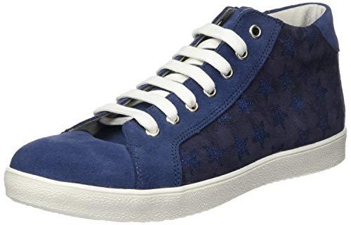 Däumling Mädchen Farah Hohe Sneaker, Blau (Turino Jeans 42), 31 EU