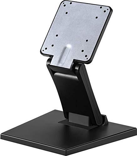 Riiai Monitor LCD ajustable soporte de escritorio plegable soporte de metal para montaje en pared con agujero VESA 75x75mm 100x100mm