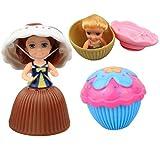 STOBOK 3 stücke Cupcake überraschung duftenden Prinzessin Puppe Mini Cupcake Prinzessin Puppe...