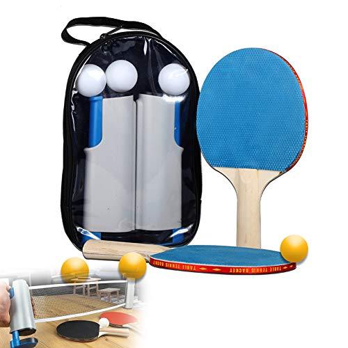 Cubierta De Tenis De Mesa, Portátiles Accesorios De Tenis De Mesa Tenis De Mesa Raqueta De Tenis Retráctil, Adecuado para Club Deportivo De La Familia De La Escuela